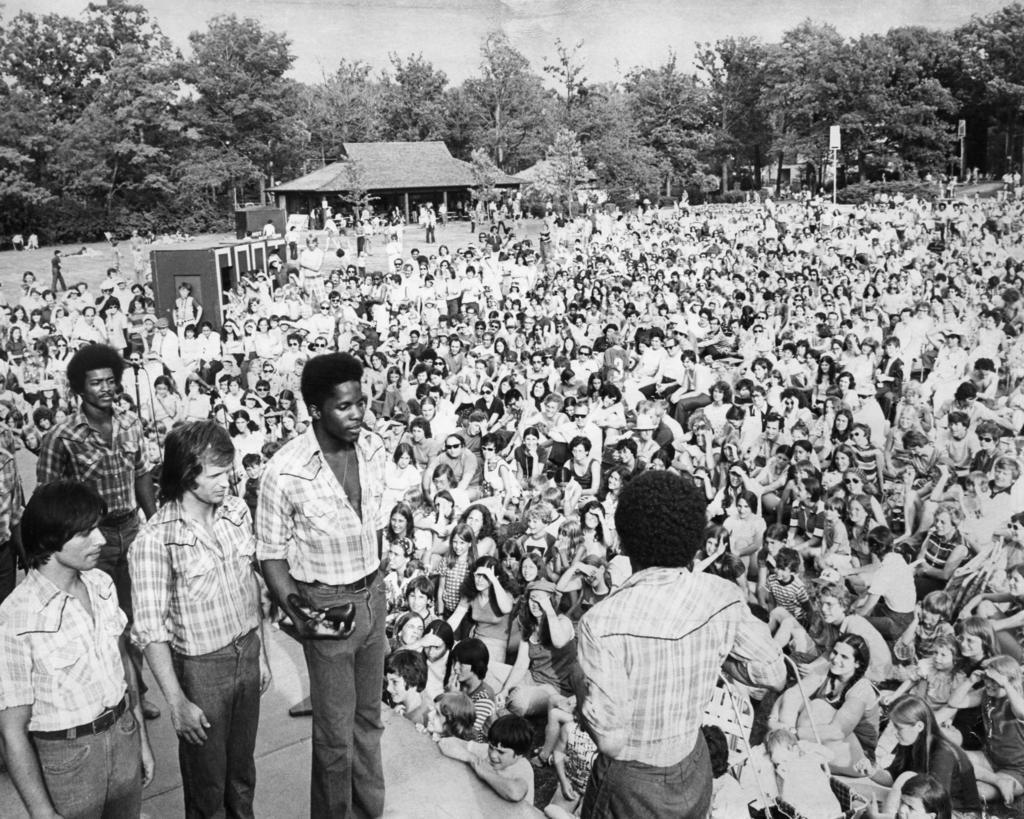Free Street at Ravinia in 1974