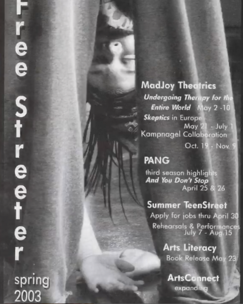 Free Street Season Postcard- 2003